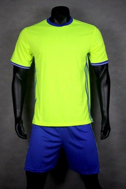 SYNSLOVEN personalizado nombre personalizado número fútbol traje de manga  corta fútbol ropa deportiva uniformes de fútbol 336c2c0ec02c8