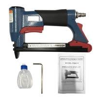 1 2 Fine Crown Nail Stapler Pneumatic Air Stapler Nailer Nail Staple Stapling Gun 4 16mm