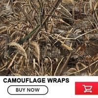 FS016 Camouflage Car Wrap Realtree Camo Vinyl Break up Jumbo Leaf Graphic PVC Car Styling Sticker Film Roof Hood Golf Cart Truck