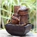 Free Shipping  Free Shipping Feng Shui decoration small fountain water wheel Home Furnishing Decor lucky   decoration creative