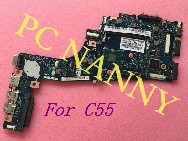 NEW ! For Toshiba Satellite C55 Series Motherboard With Amd N2840 CPU K000891450 ZBWAA LA-B303P