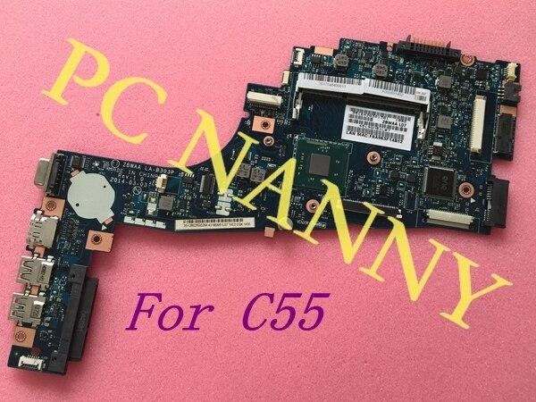 Nueva! para Toshiba Satellite C55 serie placa base con Amd N2840 CPU K000891450 ZBWAA LA-B303P
