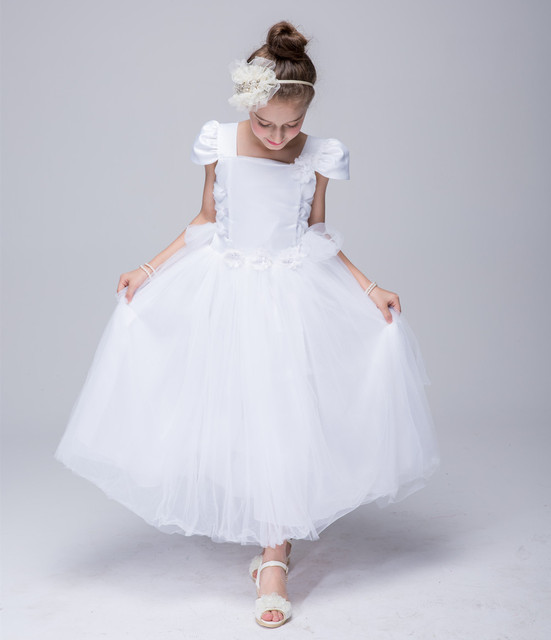 7b02507362f2f US $34.0 |Fashion designer western Lace Flower girl Dresses Christening  Party Photograph Baby Clothing girls vintage dress-in Dresses from Mother &  ...
