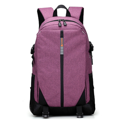 Women&USB Charge Canvas Backpacks Travel Security School Bag College Teenage 15Inch Laptop Backpack