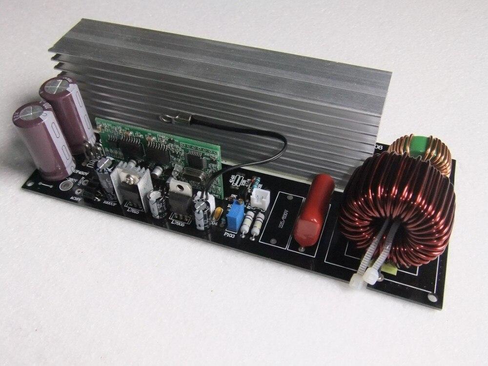 2000 w Pur Onde sinusoïdale Onduleur Carte D'alimentation Post Sinusoïdale Amplificateur kits De Bricolage avec dissipateur thermique