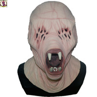 2018 Hot Selling Vivid Real Zombie Full Face Latex Mask Halloween Cosplay Party Mask