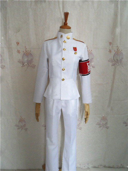 Danganronpa Dangan Ronpa Ishimaru Kiyotaka Uniform Cosplay Costume Dress full set Free Shipping