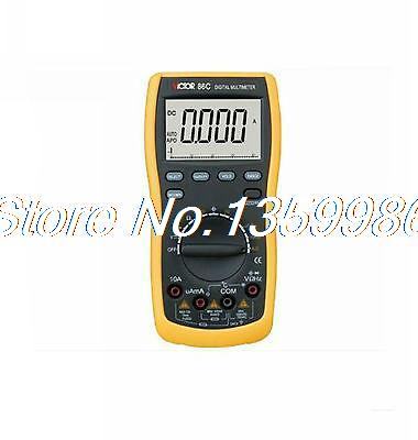 Plastic Shell Ohmmeter AC DC Testing VICTOR 86C 3 3/4 Digital Multimeter victor digital multimeter vc9804a  3 4