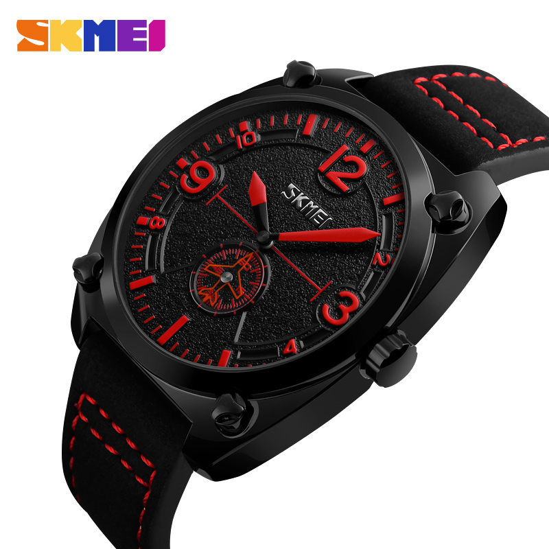 Men Quartz Watches Fashion Sport Outdoor Waterproof Aviator Watch Male Leather Strap Luxury Top Brand Wristwatches Clock Relogio new listing men watch luxury brand watches quartz clock fashion leather belts watch cheap sports wristwatch relogio male gift