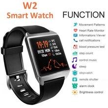 DW-Wogesup W2 smart watch GPS Bluetooth Sports Heart Rate Blood Pressure smartwatch waterproof fitness tracker band
