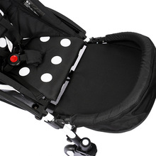 Stroller Accessories 32cm Footrest Bumper Bar with Foot EXTENSION FOOTMUFF suitable for YOYA Yuya stroller  carriage