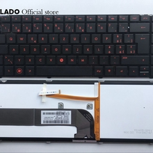 SW Швейцарский клавиатура с подсветкой для hp павильон DM4-3000 DM4-3100 DM4t-3000 DV4-3000 DV4-3100 DV4-3200 Клавиатура ноутбука SW раскладка клавиатуры