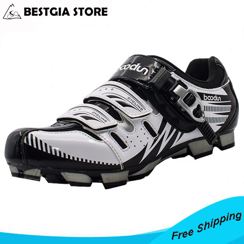 BOODUN Breathable&Waterproof Road Mountain Bike Shoes Racing Bike MTB Cycling Shoes Mens Self-Locking Athletic Bicycle Shoes boodun breathable