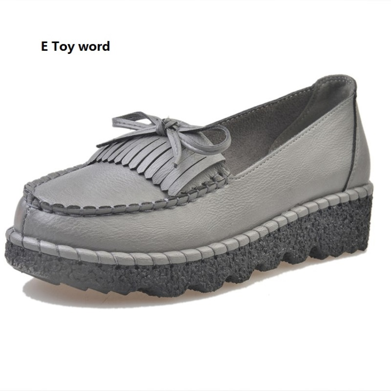 2016 bow shoes new comfortable soft bottom single pregnant women shoes Xia Hou bottom doug shoes hole hole shoes with flat sole 2017 new square head flat shoes muier zapatos platform comfortable soft bottom non slip scoop shoes bow single shoes size 35 40