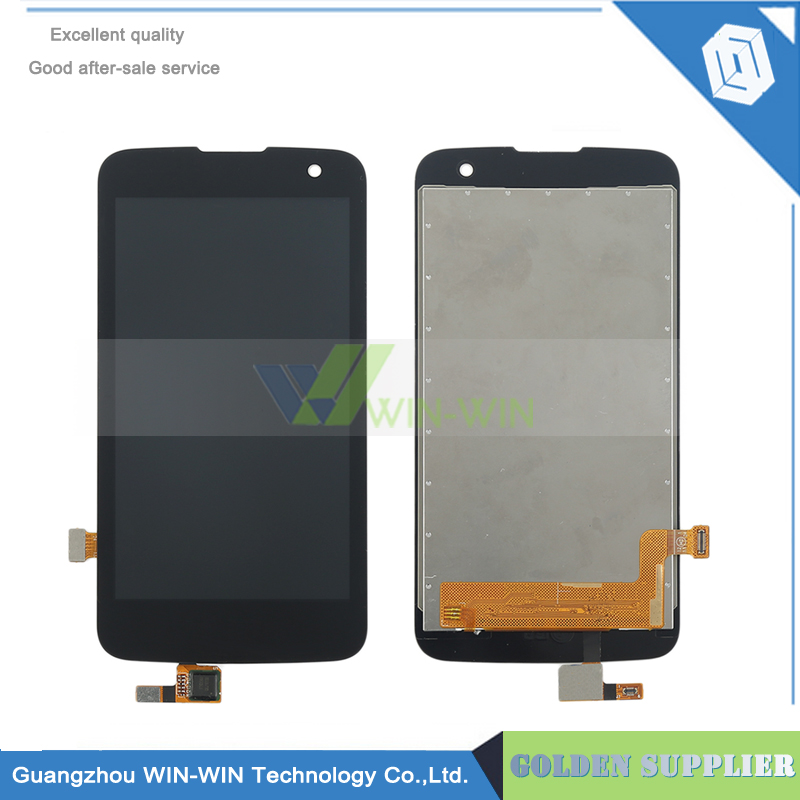 4.5 Black Tested Well For LG K4 K120AR K120E K120 LCD Screen Display + Touch Screen Digitizer Assembly Free shipping