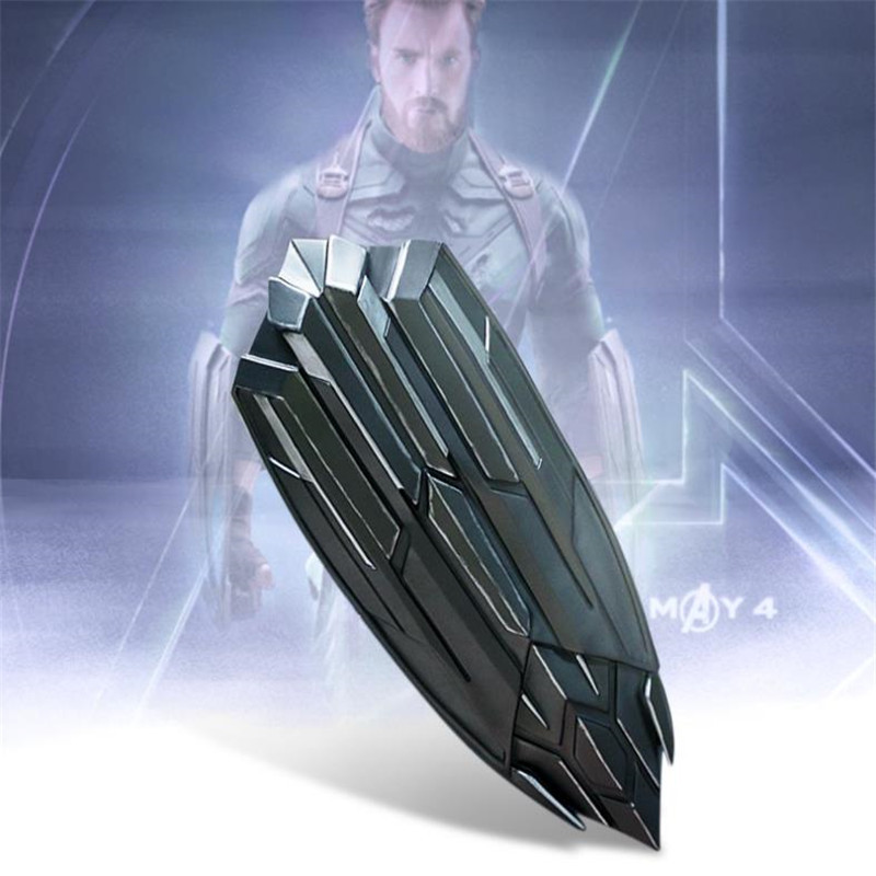 BOOCRE Movie The Avengers 3 Chris Evans Cosplay Costume Props Weapons Handheld Shield