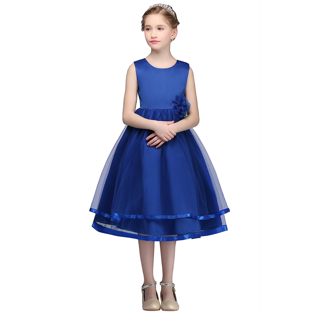 Real Photo First Communion Dresses For Girls Soft Tulle Flower Girl ...