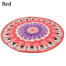 Tapiz de Mandala India Toalla de playa de verano manta de Picnic Hippie(China)