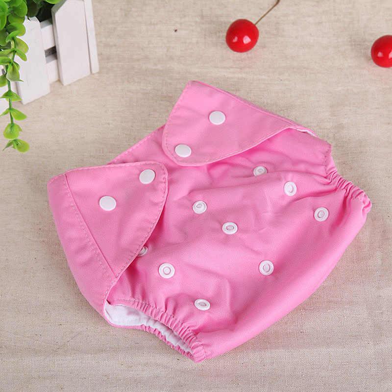 Bebê pano reutilizável fraldas fraldas lavável recém-nascidos ajustáveis fralda mudando fraldas crianças lavável pano fraldas