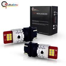 Gtinthebox 3157 Lâmpadas LED P27/5 W P27/7 W T25 3030 SMD Super Brilhante 12 V Para 2011-up Jeep Compass Para Luzes Diurnas