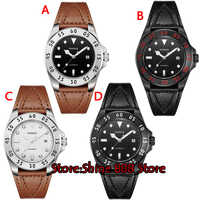 43mm Parnis sapphire crystal mens wristwatch 704 date MIYOTA Automatic movement