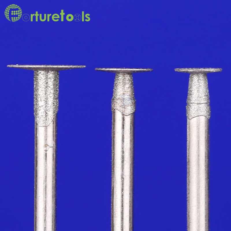 50 piezas punta montada de diamante dremel herramienta giratoria - Herramientas abrasivas - foto 3