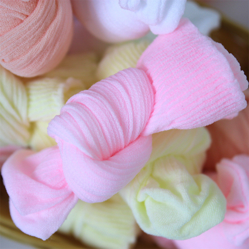 20 Pairs/Lot Girls Socks for Children Kids Mesh Style Baby Girl Socks with Elastic Candy Colors Summer Wholesale 4