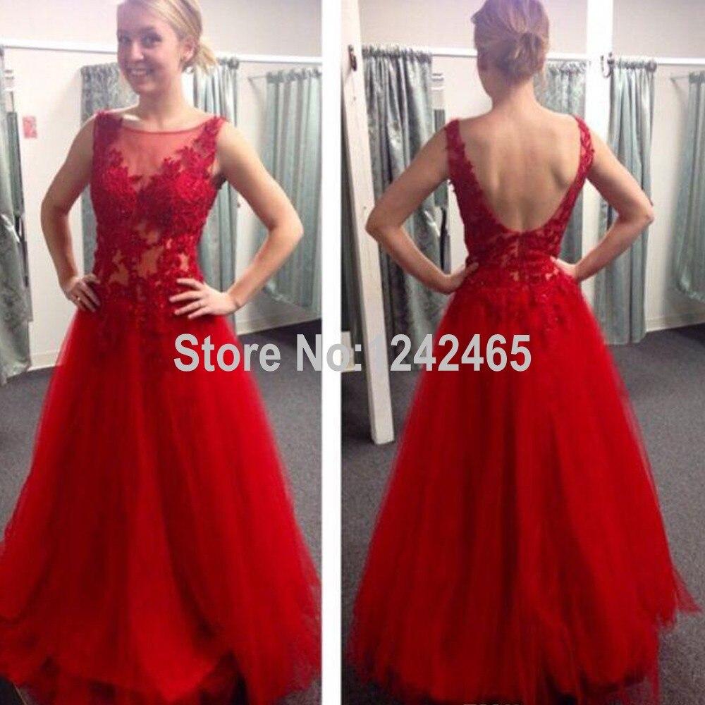 Robe soiree rouge femme