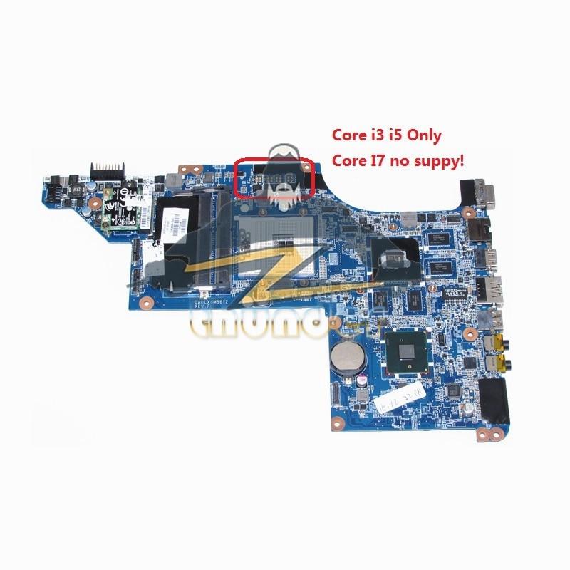 NOKOTION For HP pavilion DV7 DV7T DV7-4000 Laptop Motherboard HM55 HD5650M DDR3 DA0LX6MB6F2 615308-001 630981-001 nokotion 605320 001 615307 001 laptop motherboard for hp dv7 dv7 4000 series intel hm55 hd 5650 ddr3 main board full tested