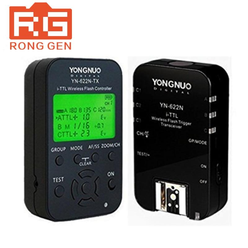 YONGNUO YN-622N-KIT kit de déclenchement Flash sans fil i-ttl avec écran LED pour contrôleur de YN622N-TX Nikon 1X et émetteur-récepteur 1X YN622 N