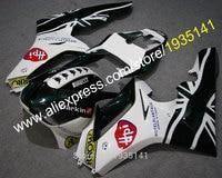 Hot Sales,For Triumph Daytona 675 bodywork kit ABS fairings 2006 2007 2008 white black Daytona675 06 07 08 (Injection molding)