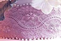 big size Long Lace silicone mold Fondant cake edge decoration tool Chocolate mold baking tool grain lace mould