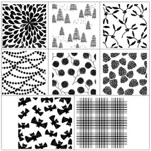 AZSG Pattern Stamp Transparent Silicone Clear Stamps/seal for DIY Scrapbooking/Card Making/Photo Album Decoration Supplies