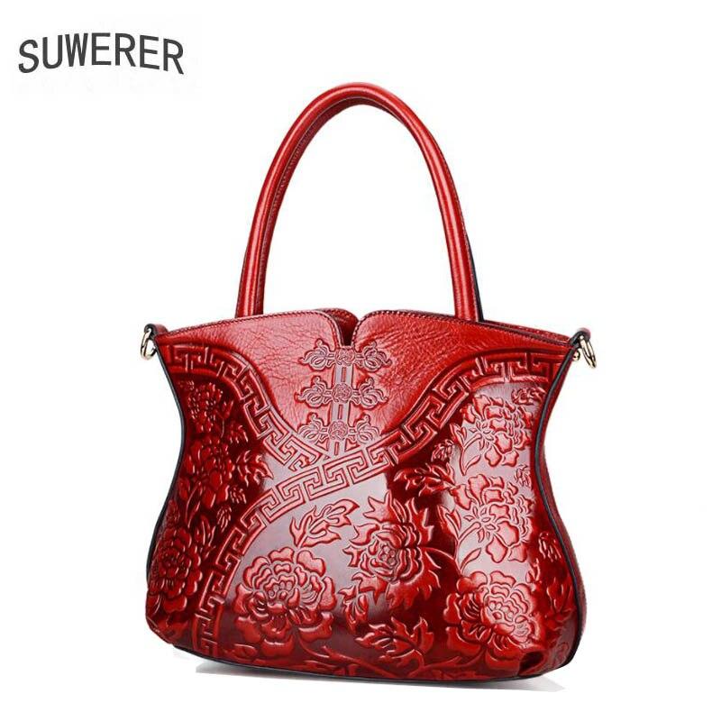 Neue Leder Tasche Suwerer Rindsleder Marke Überlegene Geprägte 2019 blue Luxus Taschen Pred Echtes Frauen Handtaschen purple Berühmte 5BTf1WpcqW