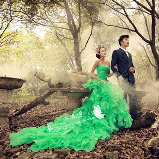 Free Shipping 2015 Men Suits And Women Dress Couple Wedding Dress