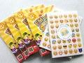20 Листов Смайлики Наклейки Пакет, содержащий 48 Emojis Высечки Смайлики Символы Символы Улыбающиеся лица выражение Стены Стикеры