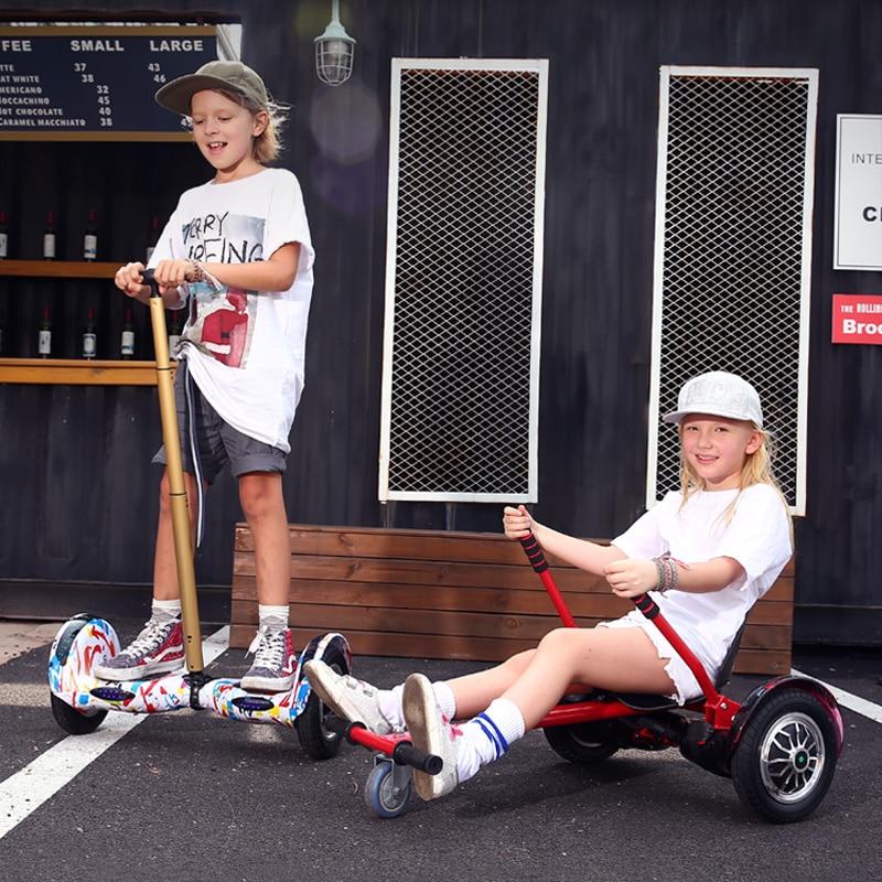 2018 новая модель дети Электрический баланс автомобиля Двойные колеса дрейфующих автомобиль интеллектуальные твист поворот автомобиль Стул
