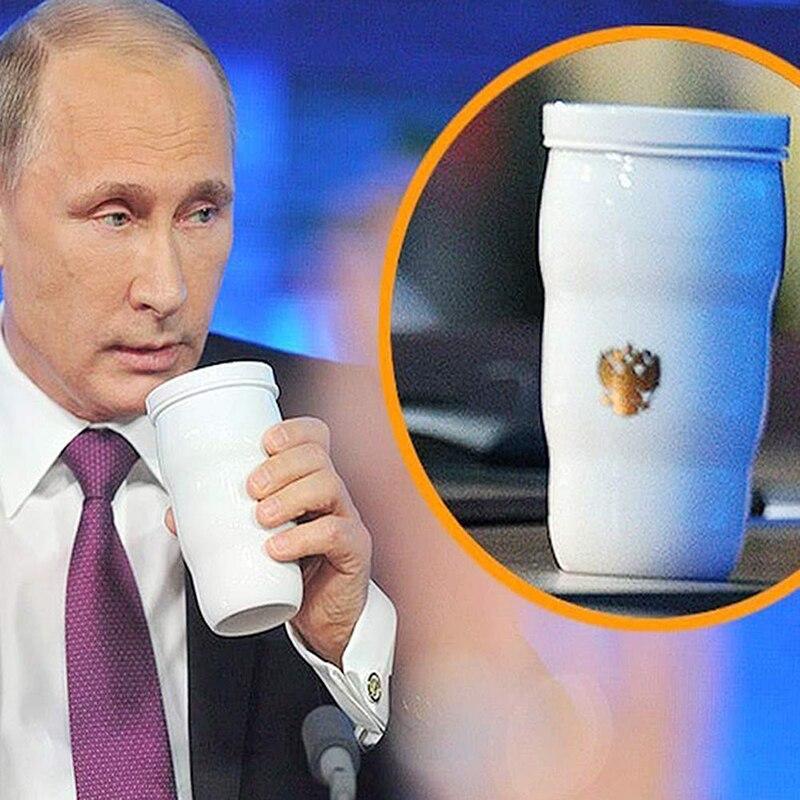 2019 Novo Chegada Mesmo Copo Térmico de Putin Putin G20 Mesma Caneca Copos Xícara de Leite de Café de Aço Inoxidável para Casa festa Do escritório