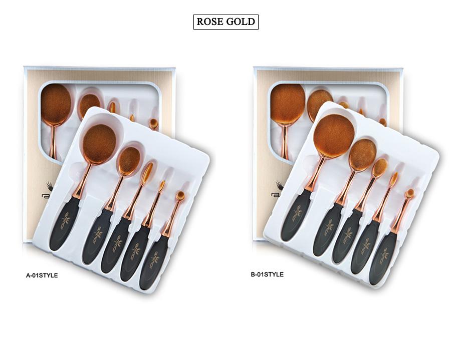 makeup brush set (5)