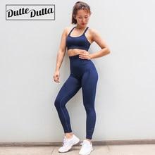a457fed70 Duttedutta Roupas de Ginástica Para Mulheres Sportswear Terno Do Esporte  Ginásio de Esportes Ativo Desgaste Sutiã