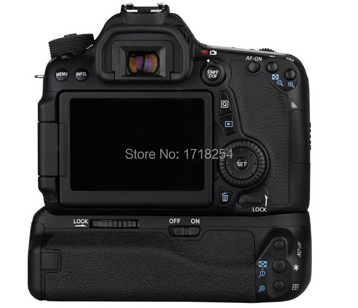 Pixel Vertax E14 For Canon EOS 70D <font><b>80D</b></font> <font><b>Battery</b></font> <font><b>Grip</b></font> High Quality+2 Years Warranty image