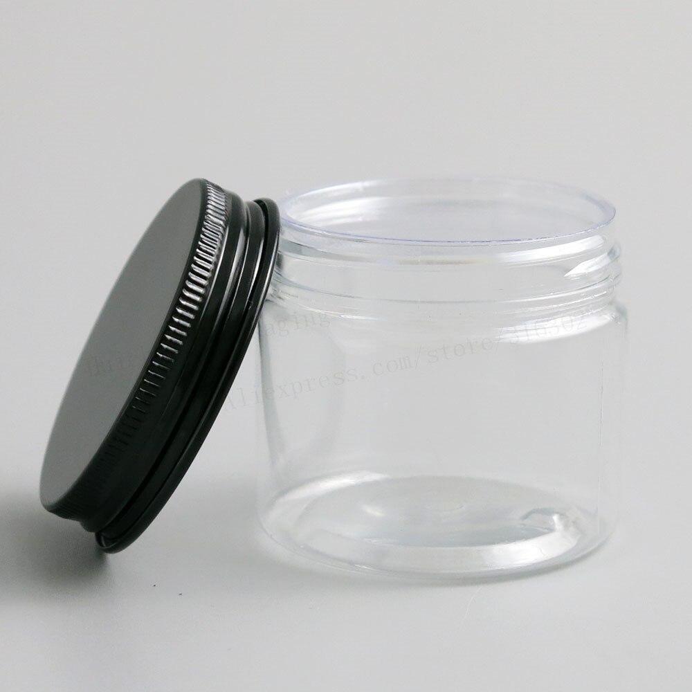 transparente pet cosmeticos recipientes para creme uso 03