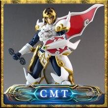 CMT En Stock Dasin modèle Grand Jouets Tenkuu Senki Shurato Métal Armure Avec Objectifs Action Figure