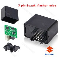 Flasher Relay For LED Indicators For 7 PIN Resistor GSXR BANDIT GSX DRZ GSF 650 1250