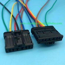 5/10/20/50/100 pcs 6pin 1.5mm 2.8mm auto electronic housing plug wire harness connector 98821106X with wire or without wire