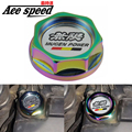 Ace speed--Neochrome Mugen Oil cap Fuel Tank Cap Cover for honda Civic Oil Fuel Filter Racing Engine Tank Cap Cover