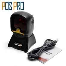 IOBC024 1D Laser mains libres Auto Capteur Barcode Scanner Code À Barres Omnidirectionnel De Bureau Plate-Forme Stationnaire Scanners