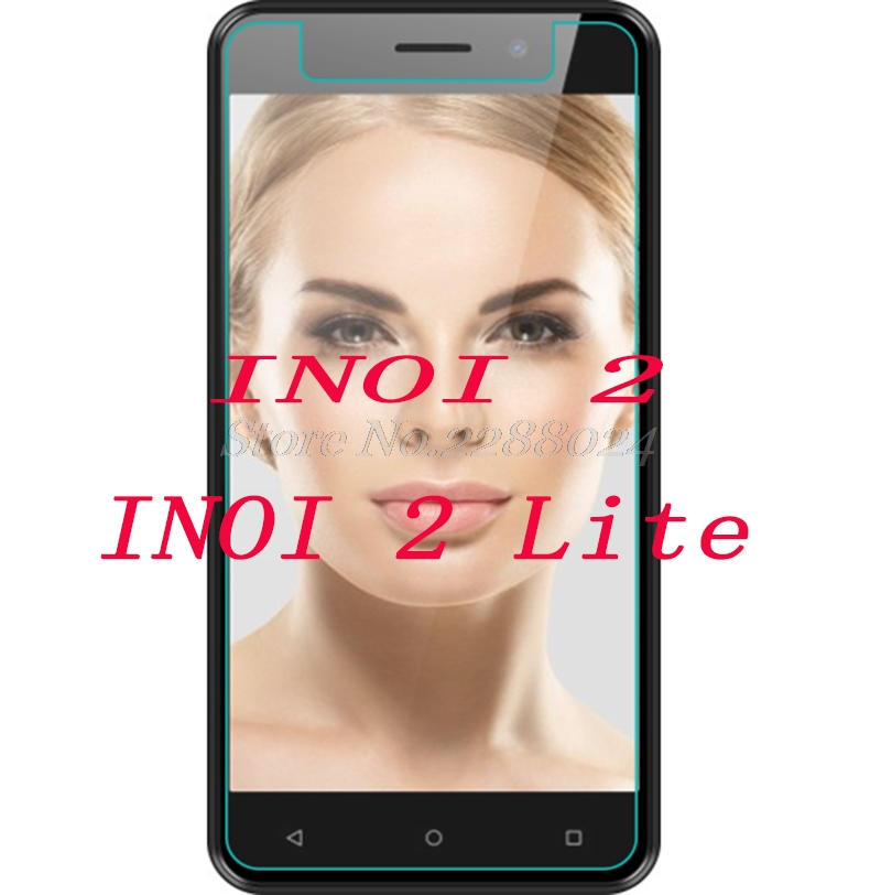 """2PCS Tempered Glass  9H Explosion-proof Protective Film Screen Protector mobile phone for  INOI 2 /  INOI 2 lite 5.0"""""""