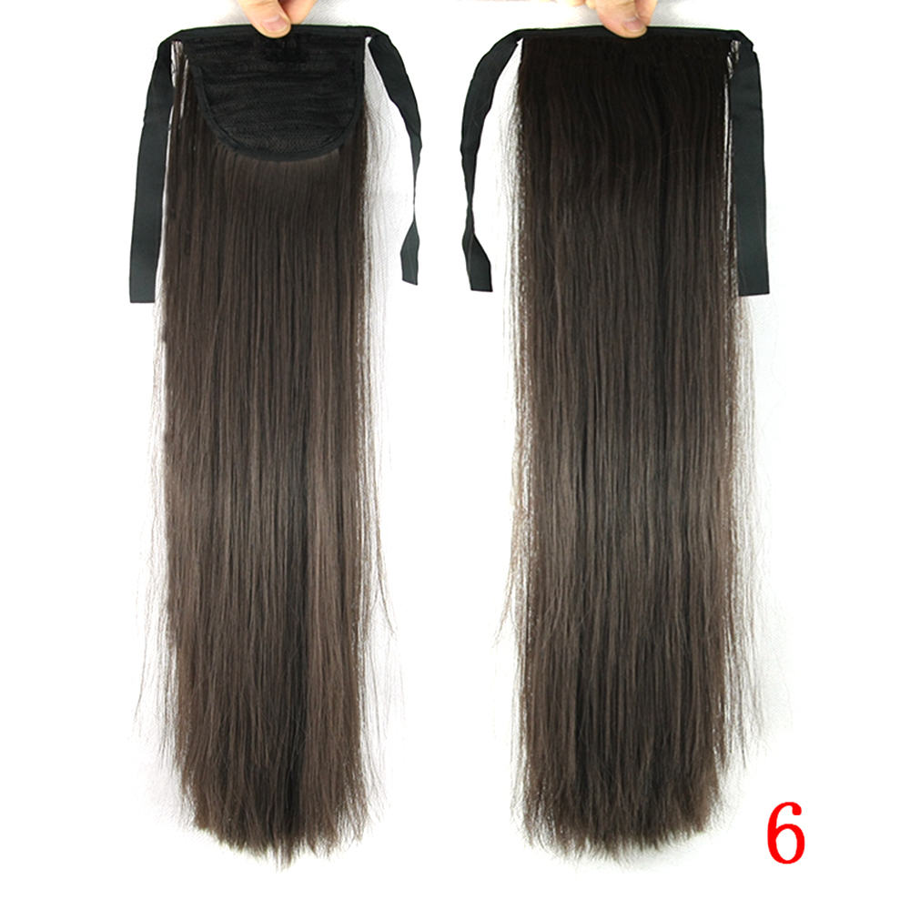 Soowee 22inch Synthetic Hair Fairy Tail Long Straight Hairpiece