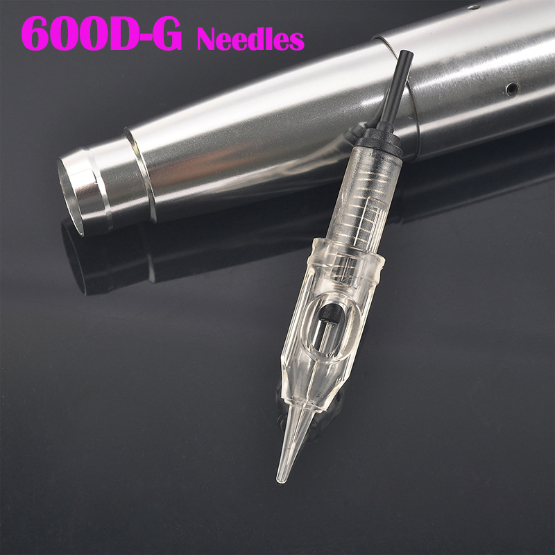 купить Tattoo Needle 100pcs/lot 1RL Disposable Sterilized Permanent Makeup Cartridge Needles Tips For Eyebrow Lip Agulha Easy Click по цене 2219.44 рублей
